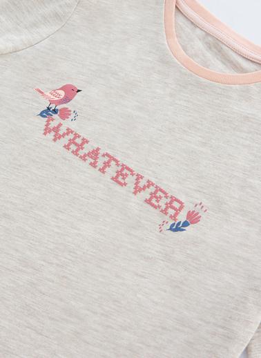 Penti Çok Renkli Kız Çocuk  Whatever Ls 2Li Pijama Takımı Renkli
